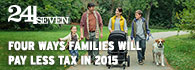 Four ways families will pay less tax in 2015 (external link)